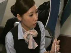 Asiatique Branlette Japonaise Stewardess