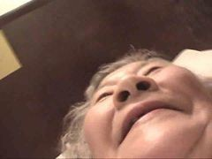 70 Yr Old Japanese Granny Fucks Good (uncensored)