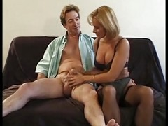 Mature Takes The Cock