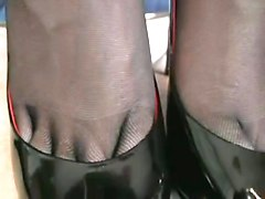 Very Hot  Pov Stockings Footjob
