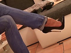 talons jupe bas collants