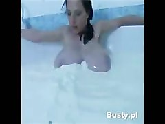 Anya's Big Tit's in A Bath Of Milk