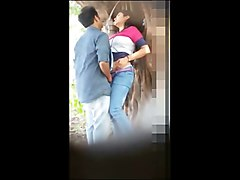 indian couple hidden forest sex