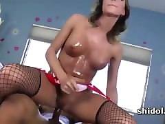 hot tgirl sienna grace takes giant prick in ass