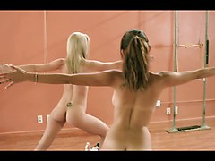 hot nude yoga class - playboy.tv
