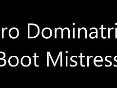 dominatrix - boot mistress