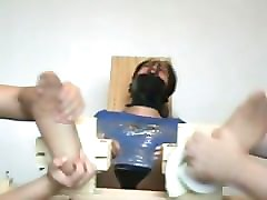 the evil ticklers - suzzane gagged and tickled - part 1