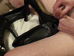 heels and flats fucked and cummed.