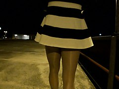 nylon pantyhose tranny looking for outdoor adventure