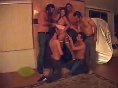 Gangbang Auditions Behind The Scenes By..