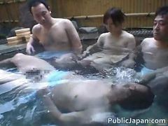 Asian Babe Is Hot And Bathing In The Hot Part1