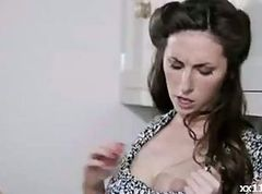 British slut Paige fucked in nylons
