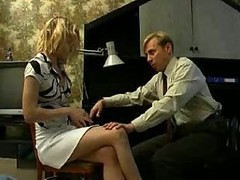 Russian Bussinessman Attackes Blonde Girl