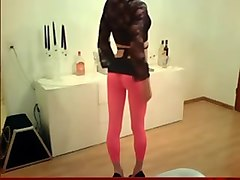 super sexy crossdresser with a big big dick