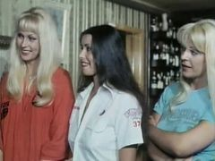 Five Girls Hot As Lava ...(vintage Movie) F70
