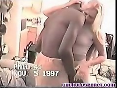 cuckold secret - vintage video of young wife with her bbc