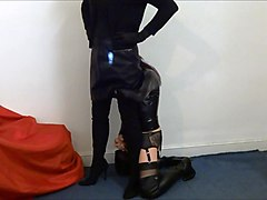 alison thighbootboy meets stevie thighboots