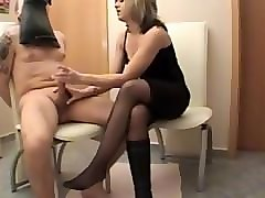 lady danira - smell my boots and cum !