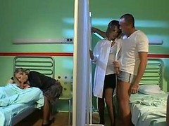 White Hot Nurses Orgy