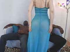 Superb Milf Interracial Threesome