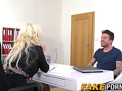 fake anal casting