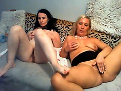my classy girlfriend and i really enjoy fingering our pussies on webcam