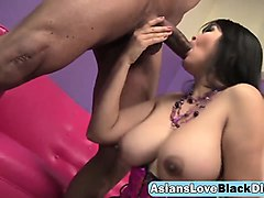 busty asian slut mika tan fucked by massive black dick
