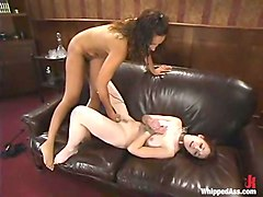 Justine Joli and Isis Love in Whippedass Video