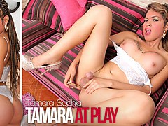 Tamara Sophia in Tamara at Play - TransAtPlay