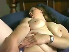my sexy bbw friend masturbates with the sex toy every single day