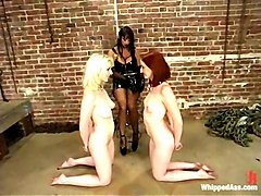 Summer Cummings, Cowgirl and Kendra James in Whippedass Video