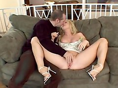 Hot Housewife Fucks In Front Of Husband