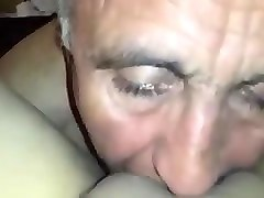 turkish grandpa licking mature womans pussy