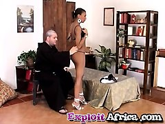 father in law tasting slim black chick shaved pussy