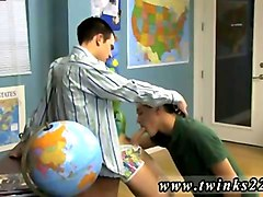 sex feet gay videos the youngster sitting behind the teachers desk unleashes the older