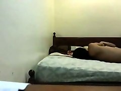 skinny indonesian teen screwed in a missionary position