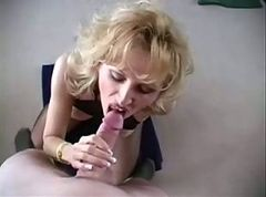Milf Racquel Black Body Suit High Heels Facial