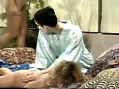 three wicked and fine white ladies start up lesbian threesome