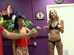very skinny blond babe screwed real hard