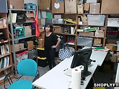 shoplyfter - stealing teen blackmailed and fucked