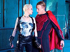 Mila Milan & Luke Hardy in London Knights: A Heroes and Villains XXX Parody Series, Episode 1 - DigitalPlayground