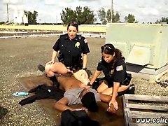 bbw cops fuck a black thug on the rooftop