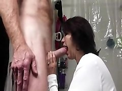 Horny Step-Mom Desperate for Her Step-son's Cock