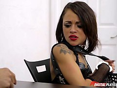 kinky teen schoolgirl analed by the cop