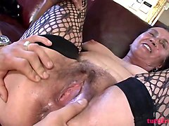 mature hairy mom mother
