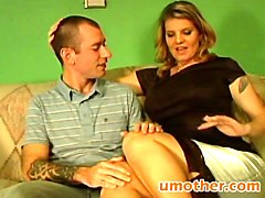 step mom seduced step son deep throat riding