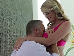 experienced blonde called stormy daniels gets bonked in all positions