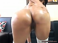 unbelievable latina like anal         by oopscams
