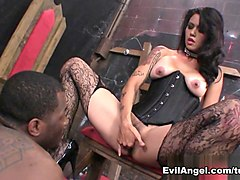 Fabulous pornstars Nacho Vidal, Dana Vespoli in Incredible Pornstars, Stockings porn clip