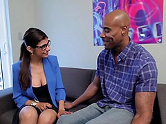 mia khalifa horny for cock